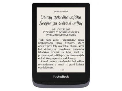 PocketBook 632 Touch HD 3 - Metallic Grey
