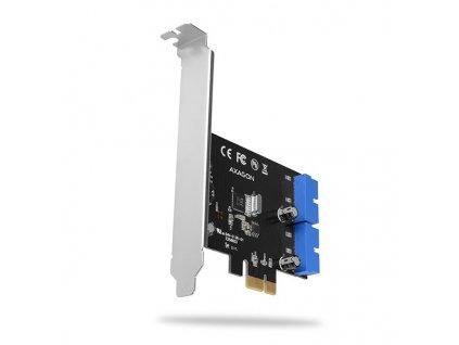 AXAGON PCEU-034VL PCIe řadič 4x interní SuperSpeed USB