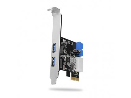 AXAGON PCEU-232VL PCIe řadič 2+2x SuperSpeed USB