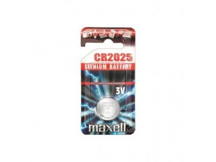 MAXELL lithiová baterie CR2025, blistr 1 ks