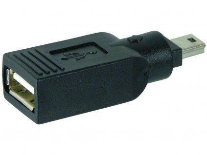 RR USB redukce A/F - 5pin mini/M 5pin