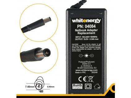 Whitenergy zdroj 19.5V 3.34A 65W, konektor 7.4x5.0mm + pin