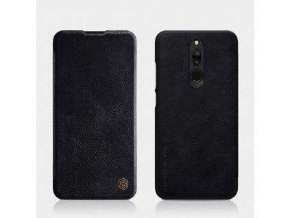 Nillkin Qin Book Pouzdro Black pro Xiaomi Redmi 8