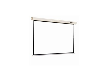 REFLECTA plátno s rolet. mech.  ROLLO Crystal Lux  (200x200cm, 1:1, s 2cm černým okrajem)