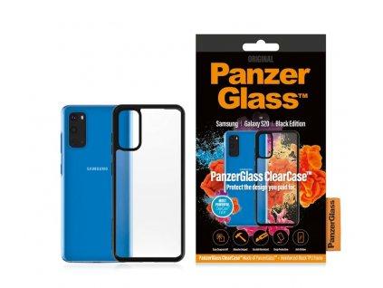 PanzerGlass ClearCase pro Samsung Galaxy S20 Black edition (0238)