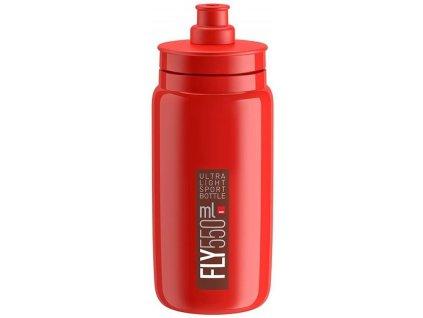 Elite Fly, 550ml - červená/bordo logo