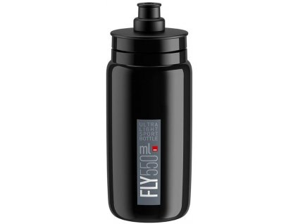Elite Fly, 550ml - černá/šedé logo