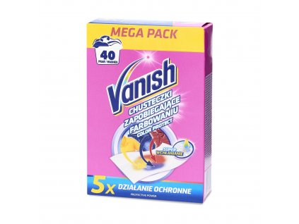 VANISH Color Protect 20 ks (40 praní)