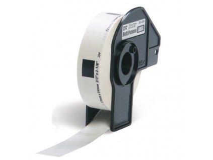 PRINTLINE kompatibilní s Brother DK-11204, papírové bílé, univ. štítek, 17 x 54mm, 400ks