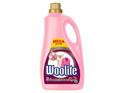 WOOLITE Delicate & Wool 3.6 l / 60 pracích dávek