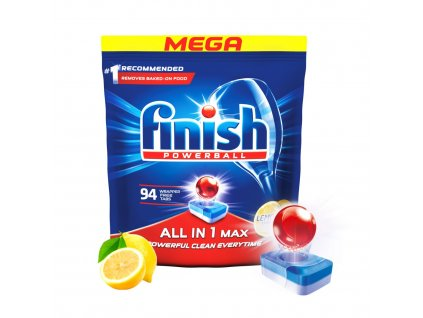 Finish Allin1 Max Lemon 94 ks