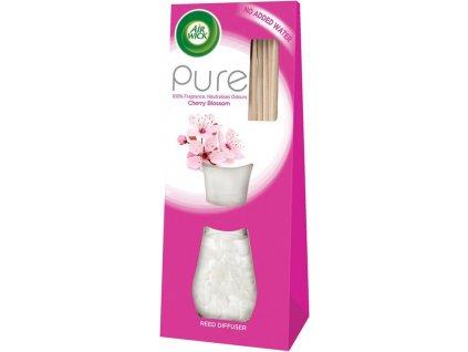 Air Wick Pure vonné tyčinky Květy třešní 25 ml