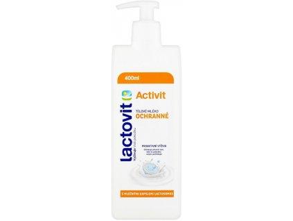 Lactovit ACTIVIT Tělové mléko ochranné 400ml