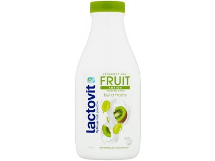 Lactovit FRUIT Kiwi a hrozny Sprchový gel antioxidační 500ml