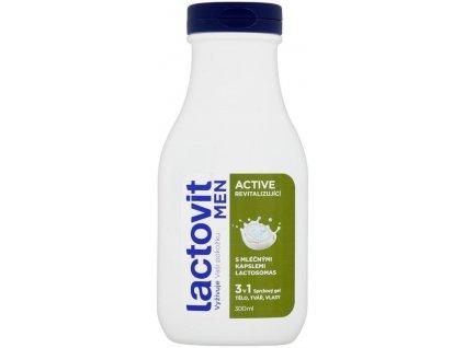 Lactovit Men Active Sprchový gel 300ml
