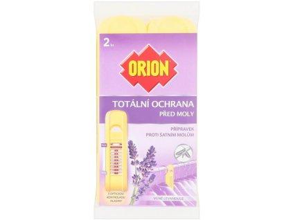 Orion Totální ochrana proti šatním molům Levandule 2ks