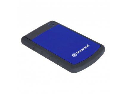 Transcend StoreJet 25H3 Slim 2TB, modrý