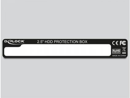 """Delock 2.5"""" HDD ochranný box (18209)"""