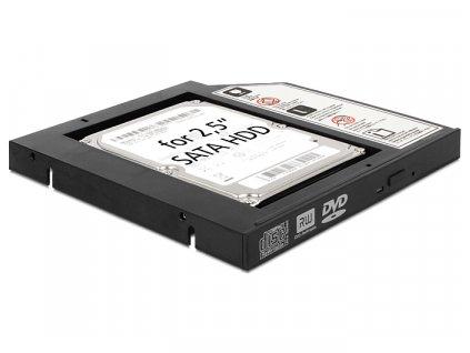 """Delock Slim SATA 5,25 instalační rámeček pro 1 x 2,5"""" SATA HDD/SSD (61993)"""