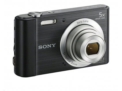 Sony DSC-W800, černý