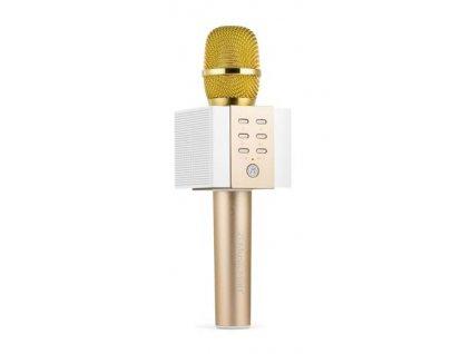 Technaxx Karaoke mikrofon Elegance BT-X45, zlatá