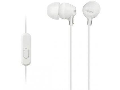 Sony MDR-EX15AP, bílá
