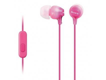 Sony MDR-EX15AP, růžová
