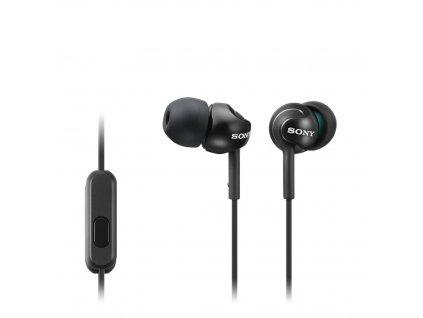 Sony MDR-EX110AP, černá