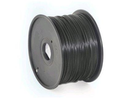 Gembird filament ABS 1.75mm 1kg, černá