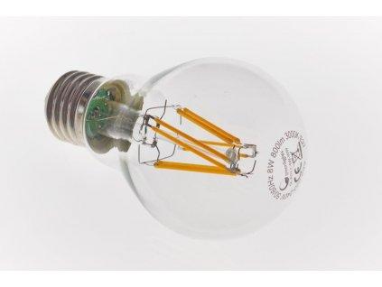 GREEN LIGHTS E27 Filament LED 8W