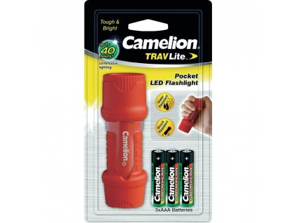 Mini LED svítilna Camelion TravLite HP7011, zelená/červená