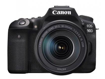 CANON zrcadlovka EOS 90D + 18-135 IS STM