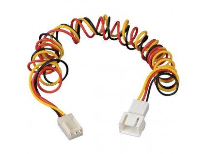 AKASA kabel prodloužení napájení 3pin konektoru 60cm