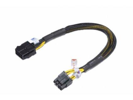 AKASA kabel prodloužení napájení ATX12V 8pin 30cm