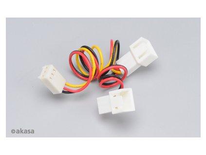 AKASA kabel rozdvojka konektoru DMI (větrákový 3PIN)
