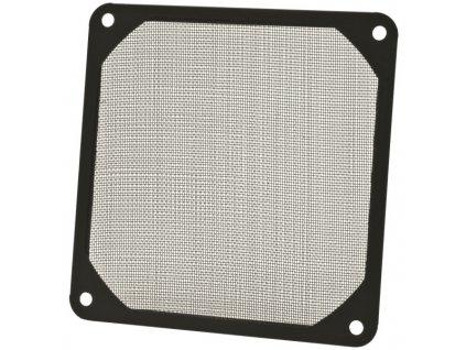 AKASA prachový filtr pro ventilátory 8cm GRM80-AL01-BK, hliníkový