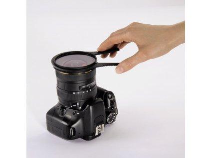 Hama svorka / kleště na filtry, 2ks, 62 - 86 mm (5897)