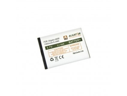 ALIGATOR baterie pro A600, A610, A620, A430, A670, A680