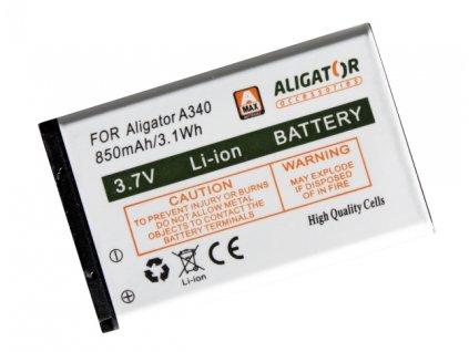 ALIGATOR baterie A340/A310/A311/A320/V600 Li-Ion 850 mAh