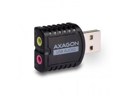 AXAGON ADA-10 USB - audio mini adaptér