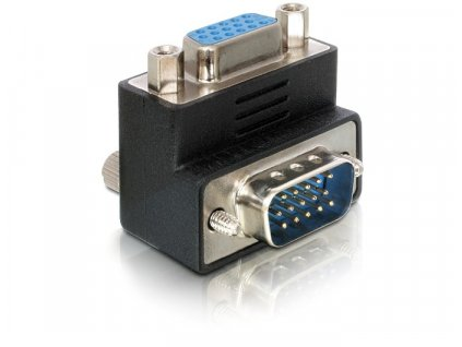 Adapter VGA(M) - VGA(F) 90° (65171)