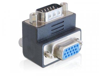 Adapter VGA(F) - VGA(M) 270° (65290)