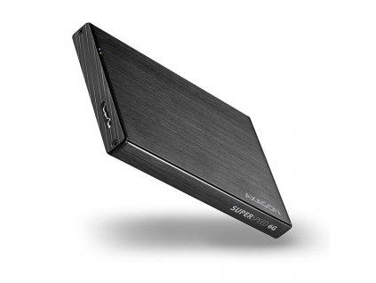 AXAGON EE25-XA6 ALINE box, černý