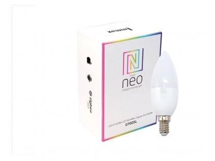 Immax Neo LED E14 C37 5W RGBW Zigbee
