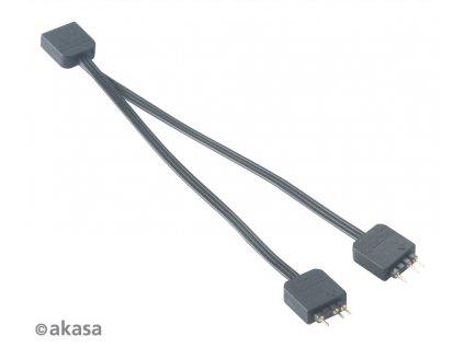AKASA RGB LED kabel-splitter adresovatelný 12cm
