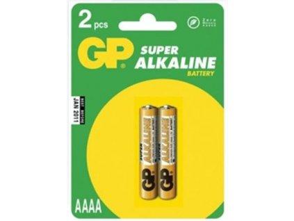 GP alkalická baterie AAAA GP 25A - 2ks blistr