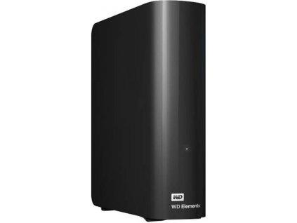 "WD Elements Desktop 8TB Ext, 3,5"" USB3,0, Black"
