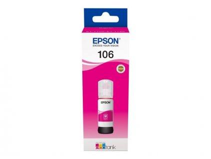 Epson EcoTank 106 Magenta, purpurová