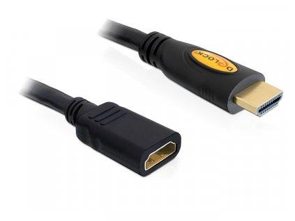 Delock HDMI 1.4 prodlužovací kabel A/A samice/samec, délka 5m (83082)