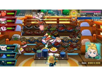 Switch - Sushi Striker: The Way of Sushido